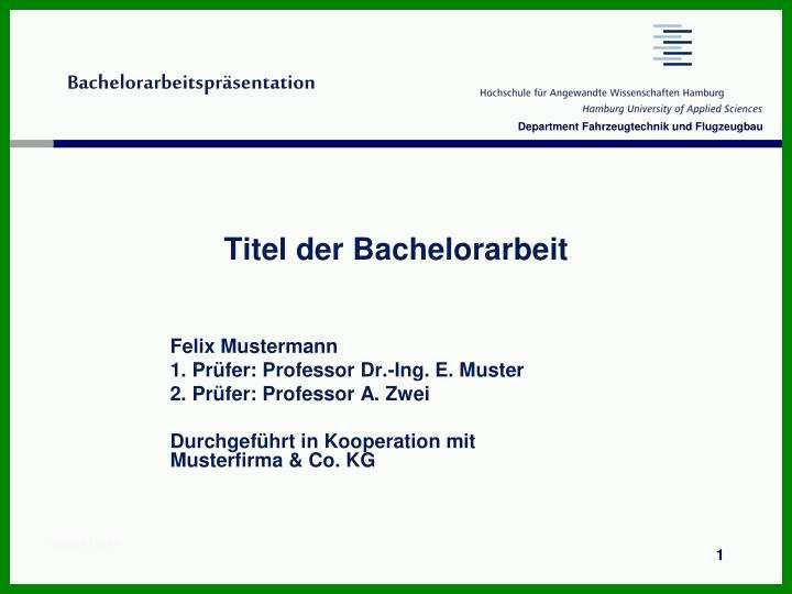 bachelorarbeit vorlage