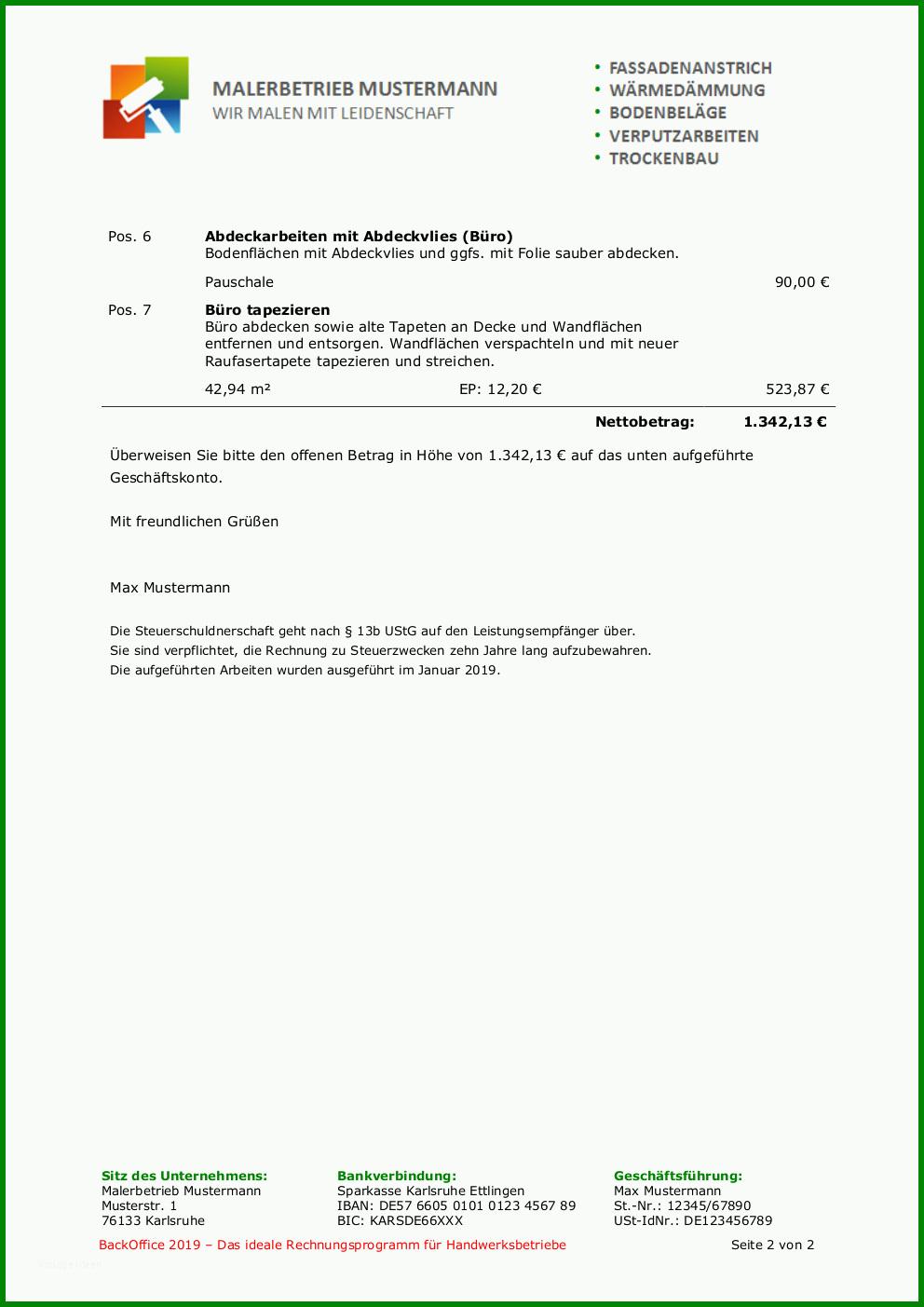 Werkvertrag Subunternehmer Muster