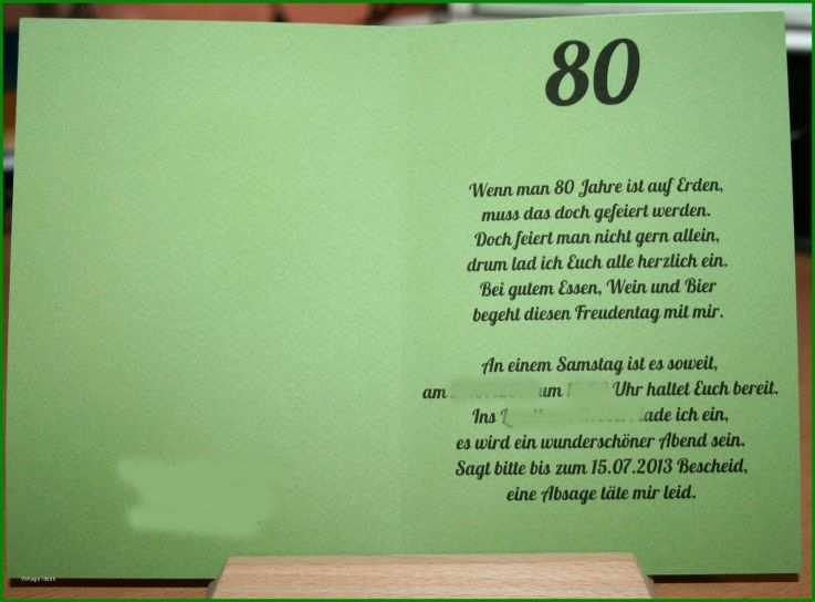 7 Fantastisch Word Vorlage Einladung 80 Geburtstag Kostenlos
