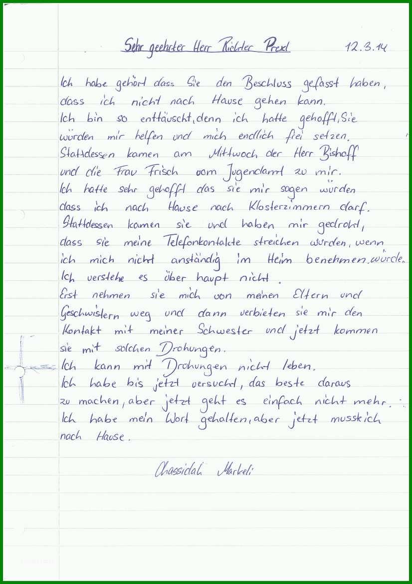 Ideal 15 Brief An Eine Freundin Vorlage 705644